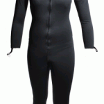 Womens Black Sauna Suit