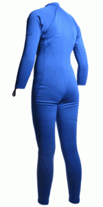 Womens Blue Sauna Suit