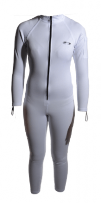 Womens White Sauna Suit